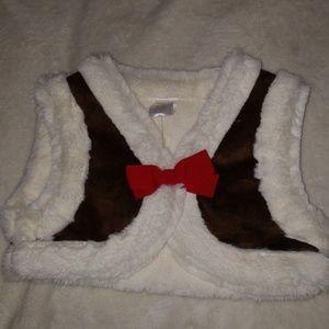Gymboree NWT vest girls size XS 3/4